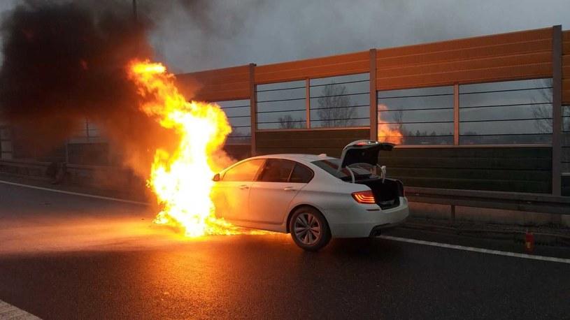 Pożar był bardzo gwałtowny /