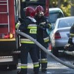 Pożar byłej noclegowni w Słupsku