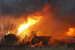 Pożar cystern w Białymstoku