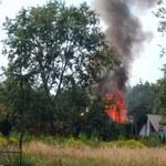 Pożar domu pod Poznaniem. Nie ma informacji o poszkodowanych