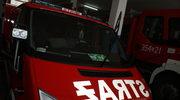 Pożar domu wielorodzinnego w Żaganiu. Nie żyją dwie osoby