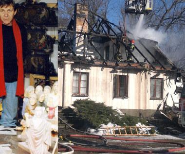 Pożar doszczętnie zniszczył dom Wojciecha Siemiona. Jest szansa na jego odbudowę?