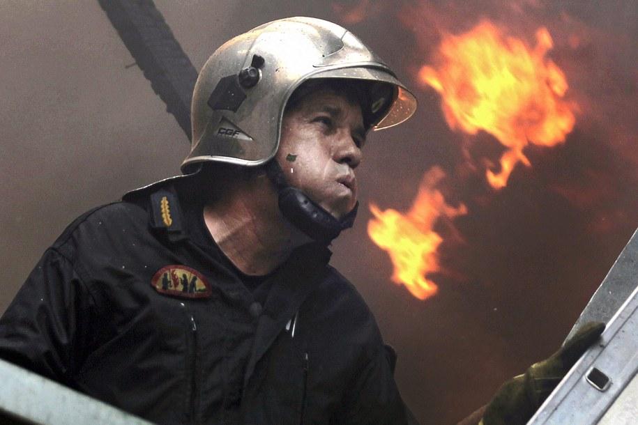 Pożar dotarły do przedmieścia Aten /ORESTIS PANAGIOTOU /PAP/EPA