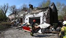 Pożar dworku w Wólce Radzymińskiej