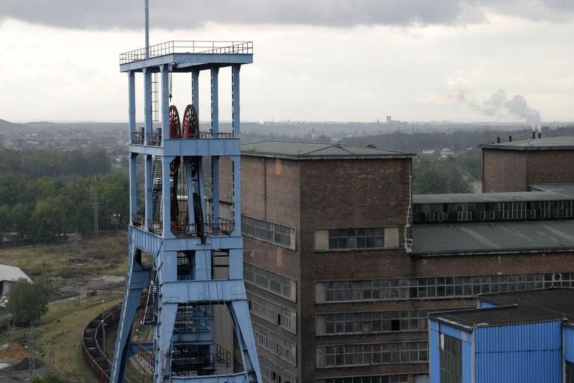 Pożar endogeniczny w kopalni Jankowice. Ewakuowano górników /Andrzej Wawok /Reporter
