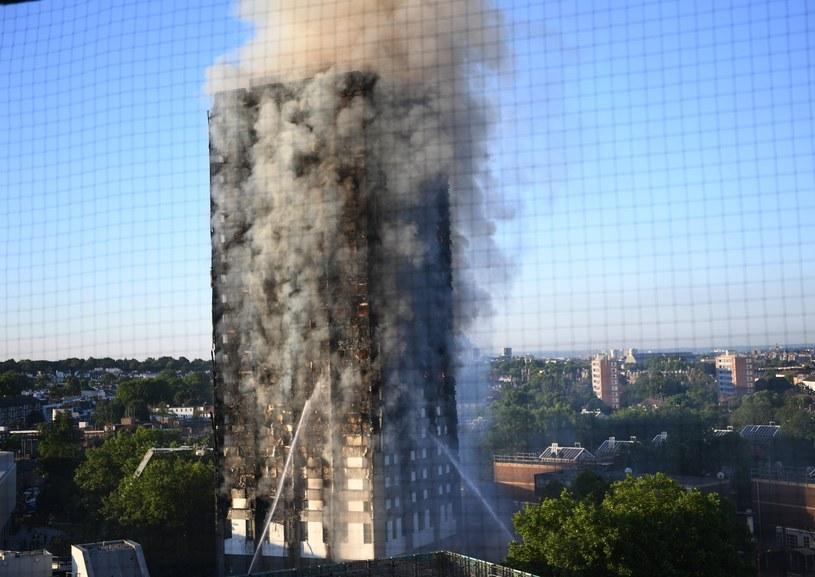 Pożar Grenfell Tower /PAP/EPA
