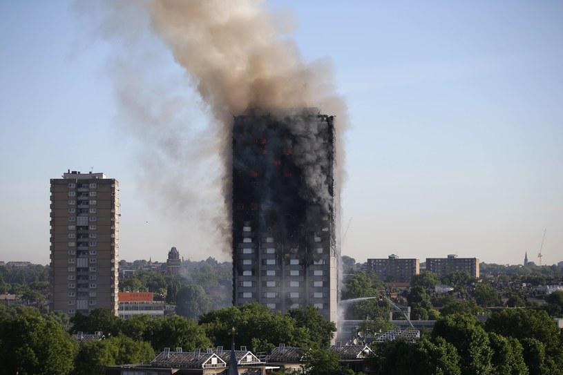 Pożar Grenfell Tower /DANIEL LEAL-OLIVAS /East News