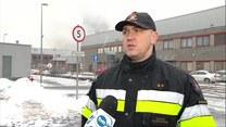 Pożar hali magazynowej w Warszawie. Ewakuowano około 100 osób