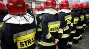 Pożar hali produkcyjnej w Świebodzicach