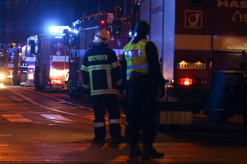 Pożar hotelu w Pradze /AFP