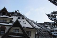 Pożar hotelu w Zakopanem jest już dogaszany