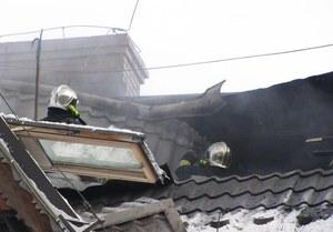 Pożar hotelu w Zakopanem. Spłonęły pokoje na poddaszu