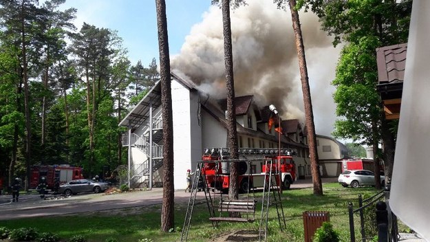 Pożar hotelu /Gorąca Linia /Gorąca Linia RMF FM