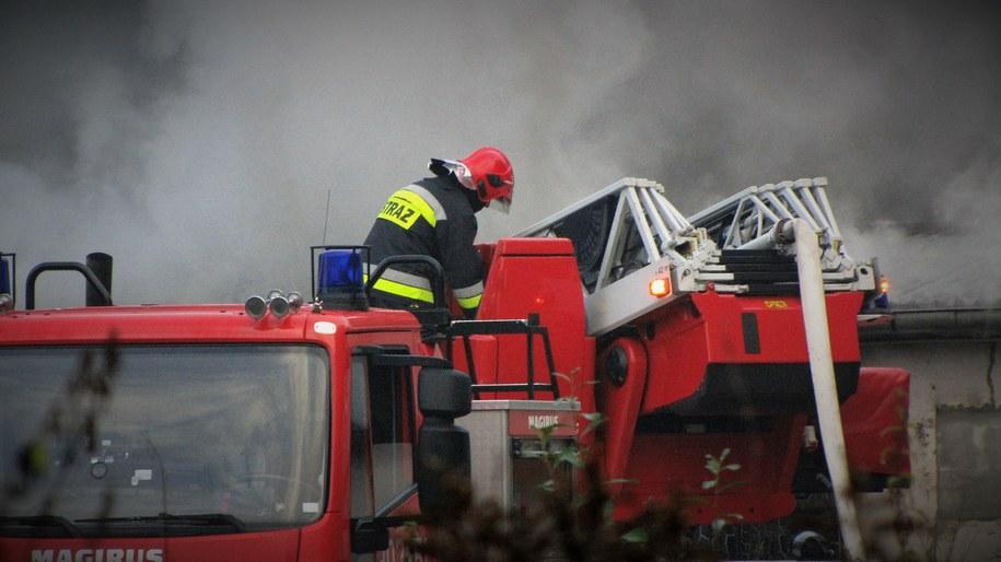 Pożar instalacji elektrycznej był powodem ewakuacji kilkudziesięciu pacjentów szpitala /Archiwum RMF FM