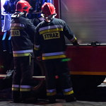 Pożar kamienicy w Bytomiu. Dach mógł zapalić się od fajerwerków