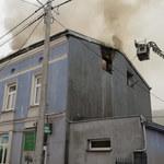 Pożar kamienicy w Łęczycy. Zginęła 1 osoba