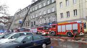 Pożar kamienicy w Łodzi. Jedna osoba zginęła