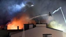 Pożar kamienicy w Szczecinie. Powołano sztab kryzysowy