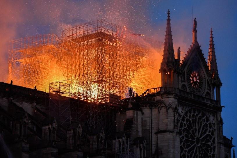 Pożar katedry Notre Dame w Paryżu /Julien Mattia / Le Pictorium /East News