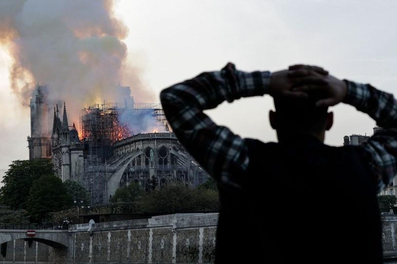 Pożar Katedry Notre Dame /AFP /East News