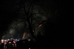 Pożar klasztoru w Alwerni