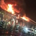 Pożar klubu w Tomaszowie Mazowieckim