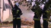 Pożar kurzej fermy w Wielkopolsce. Spłonęło kilkanaście tysięcy kurcząt