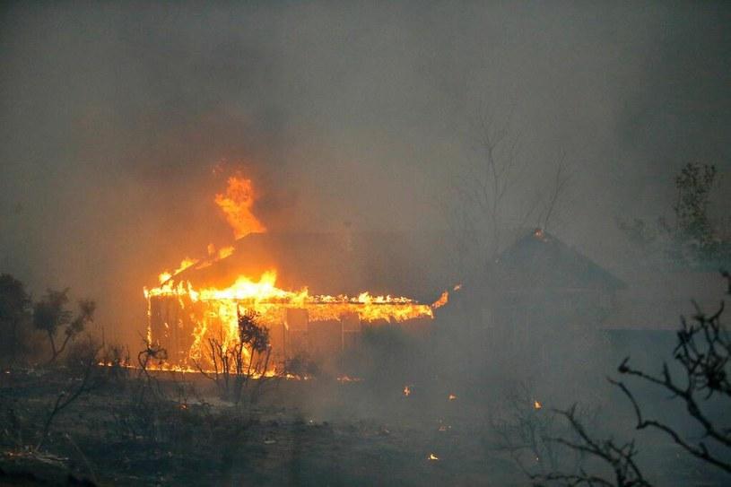 Pożar lasu w pobliżu miejscowości Prescott /weather.breakingnews.com /