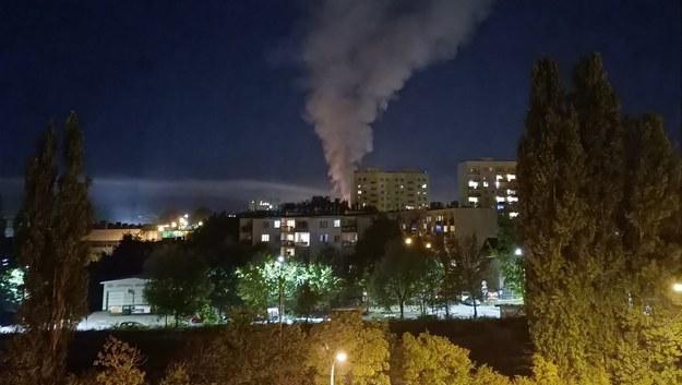 Pożar marketu w Kielcach /Gorąca Linia /Gorąca Linia RMF FM