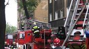Pożar mieszkania w Ełku