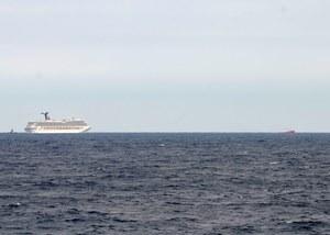 """Pożar na """"Grandeur of the Seas"""" to już kolejny incydent w trwającej od kilku miesięcy złej passie wycieczkowców (zdj. ilustracyjne) /US Coast Guard  /PAP/EPA"""