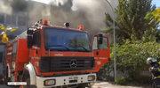 Pożar na greckim uniwersytecie. Studenci uciekali z akademika