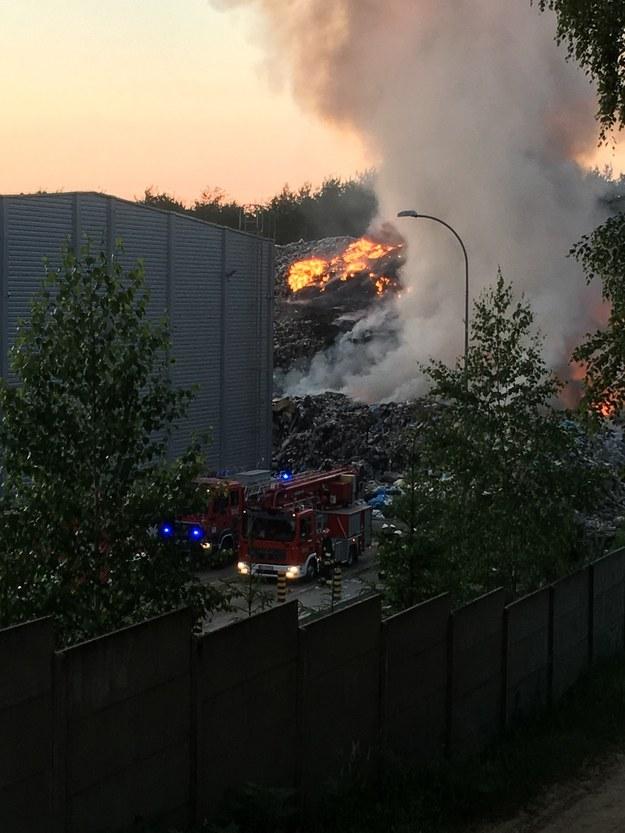 Pożar na Podlasiu /Gorąca Linia RMF FM