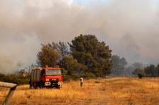 Pożar na słynnej wyspie Rodos. W akcji samoloty i śmigłowce