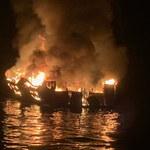 Pożar na statku u wybrzeży Kalifornii. 34 osoby uznane za zmarłe