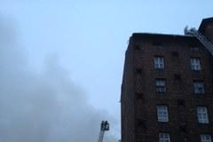 Pożar na warszawskiej Pradze