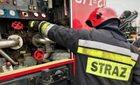 Pożar pieca w hucie aluminium w Koninie