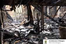 Pożar polskiego kościoła w Glasgow. Zatrzymano 24-latka