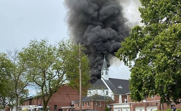 Pożar polskiej szkoły w stanie Nowy Jork