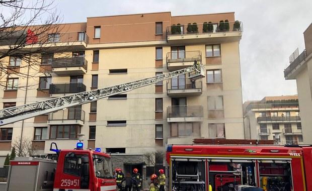 Pożar przedszkola w Krakowie. Ewakuowano 60 osób