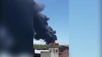 Pożar rafinerii w Rio de Janeiro. Strażacy walczyli z ogniem przez wiele godzin