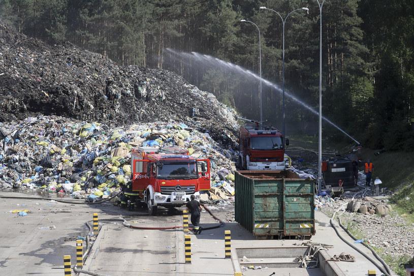 Pożar składowiska w Studziankach /Anatol Chomicz/Polska Press /East News