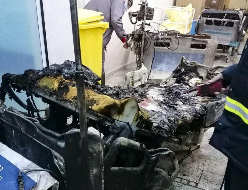 Pożar szpitala w Rumunii /Exploziv TV Neamt/Associated Press/East News /East News