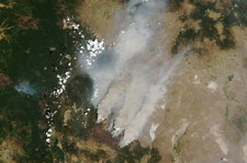"""Pożar w amerykańskim stanie Oregon. Ogień """"tworzy własną pogodę"""""""
