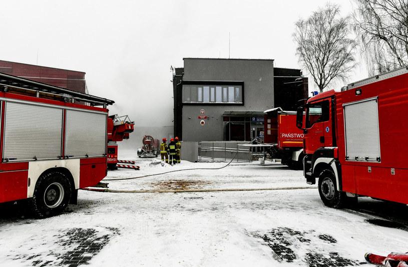 Pożar w Archiwum Urzędu Miasta Krakowa /Artur Barbarowski /East News