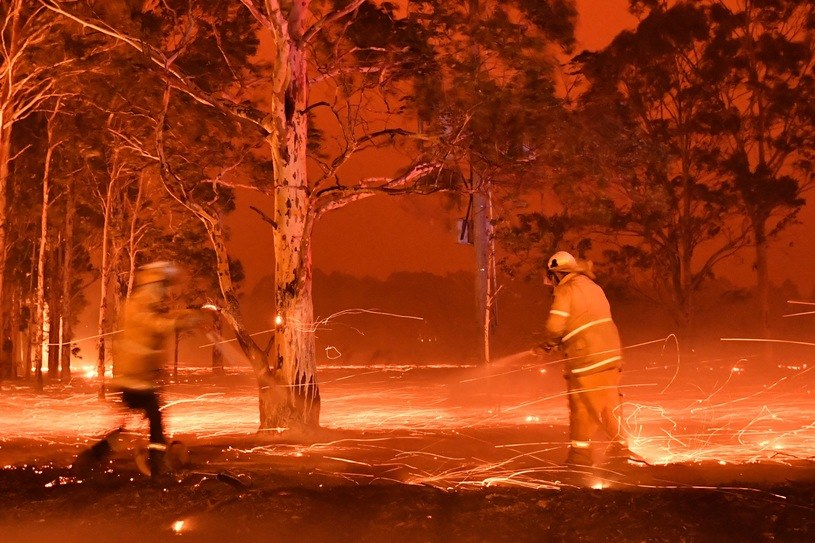 Pożar w Australii /AFP/INTERIA.PL