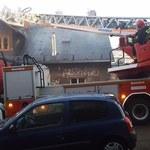 Pożar w Bielsku-Białej. Zatrzymany 61-latek, miał grozić sąsiadom