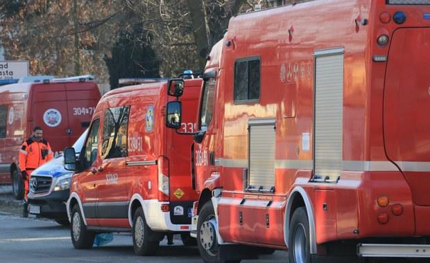 Pożar w bloku w Sosnowcu. Ewakuowano 10 osób