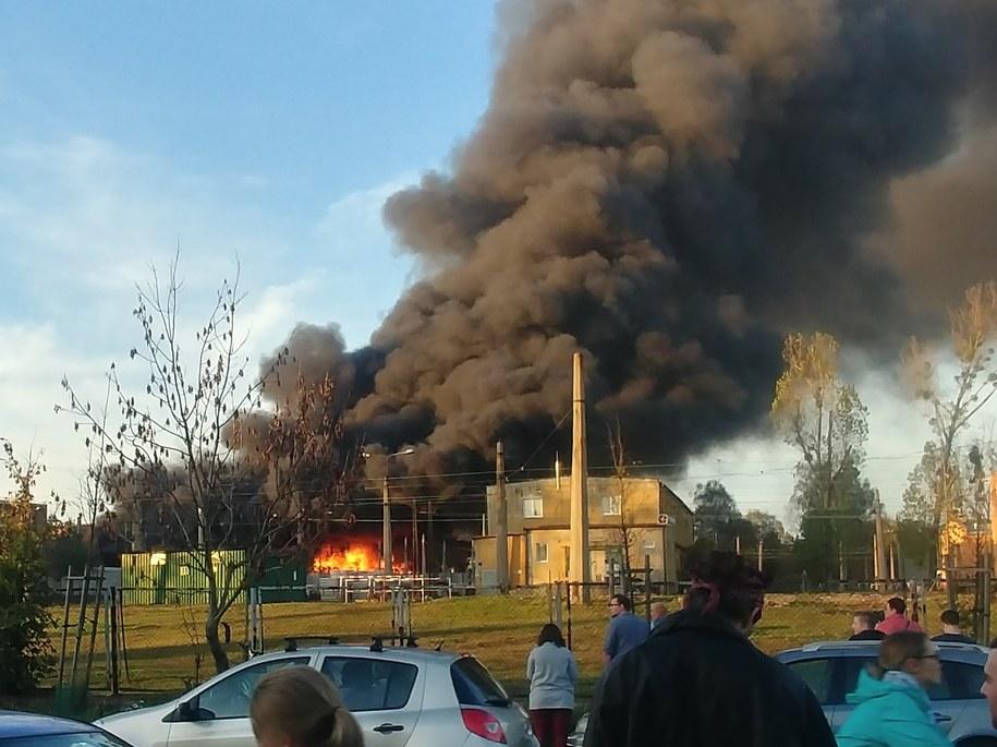 Pożar w Bytomiu /Gorąca Linia RMF FM