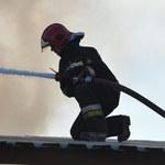 Pożar w centrum Zakopanego. Zapalił się budynek niedaleko Krupówek
